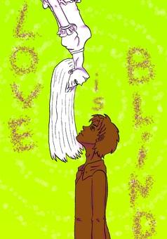 Love is Blind : manga cover