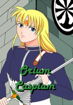 Orium Caspium : manga couverture