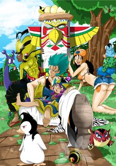 Redskin : manga cover