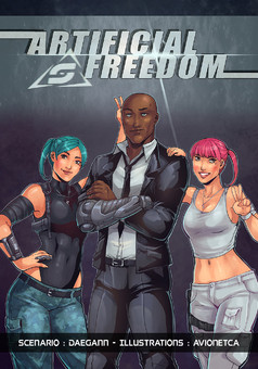 Artificial Freedom : comic cover