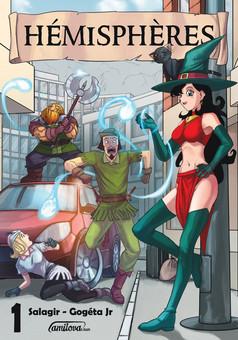 Hémisphères : manga cover