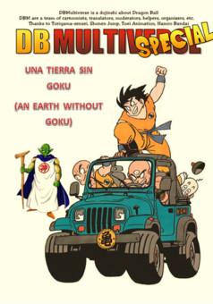 DBM U3 & U9: Una Tierra sin Goku : manga cover