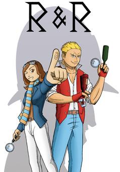 R&R : manga cover