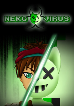 Neko Virus : manga couverture