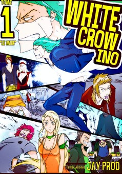 White Crow Ino : manga couverture