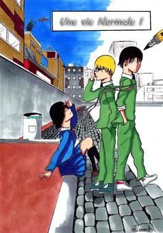 Une Vie Normale : manga couverture