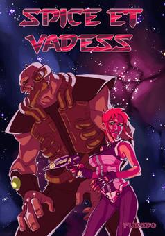 Spice et Vadess : comic couverture