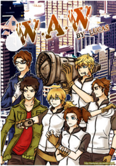 WAW (World At War) : manga couverture