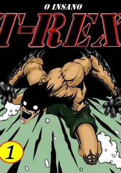 O INSANO T-REX : comic cover
