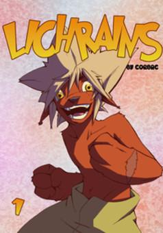 Lichrains : manga couverture