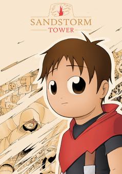 Sandstorm Tower : manga couverture