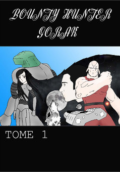 Bounty Hunter Gorak : manga couverture