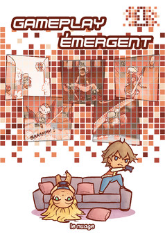 Gameplay émergent : comic couverture