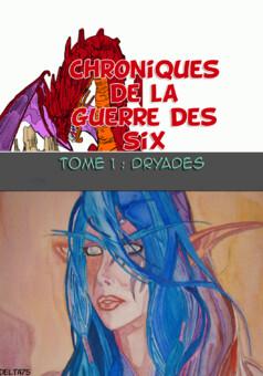 Chroniques de la guerre des Six : manga couverture