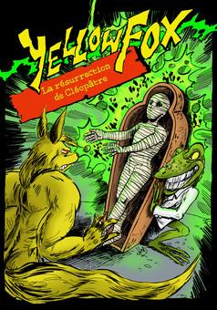 Yellow Fox : comic cover