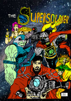 The supersoldier : comic couverture