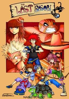 The Last Sasori : manga couverture