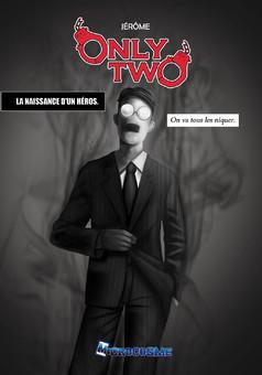 Only Two-La naissance d'un héros : manga couverture