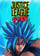 Justice League Goku: cover