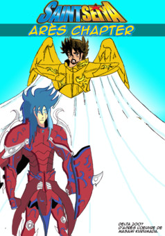 Saint Seiya Arès Apocalypse : manga portada