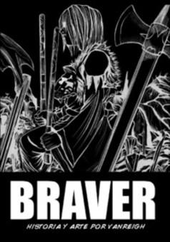 Braver : comic portada