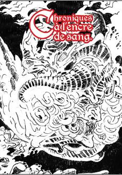 Chroniques à l'Encre de Sang : manga couverture
