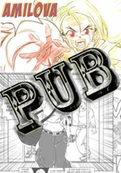Amilova : la pub:) ! : manga cover