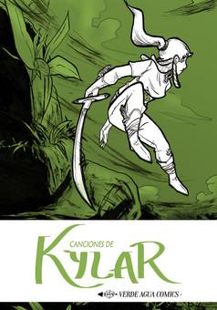 Canciones de Kylar : manga cover