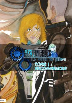 Sentinelles la quête du temps : manga cover