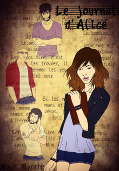 Le journal d'Alice : manga couverture