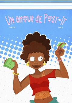 Un amour de Post-it : comic couverture