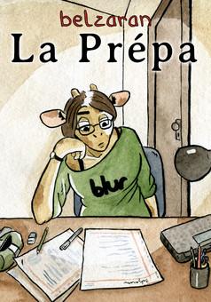 La Prépa : comic cover