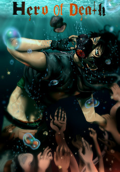 Hero of Death  : manga cover