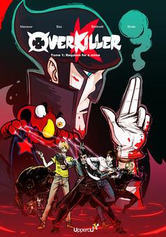 Overkiller : manga cover