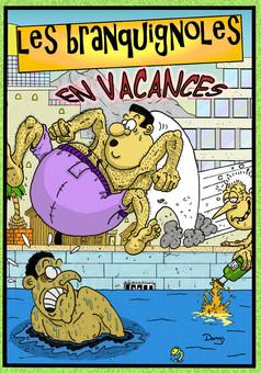 Les branquignoles: tome 4 : manga couverture