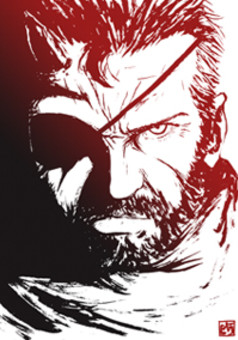 MGS5: The Silent War : manga cover