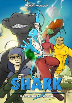 SHARK Clandestins de Solobore : manga cover