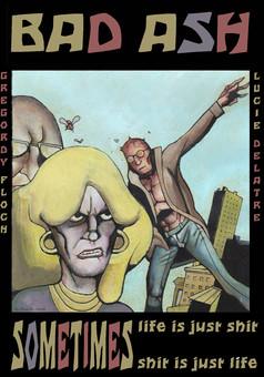 Le christ des mouches : comic couverture