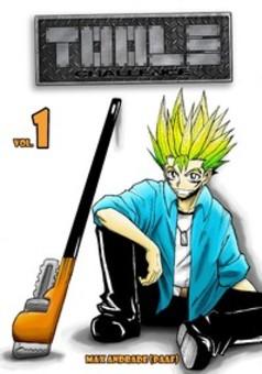 Tools Challenge : manga cover
