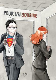 Pour un Sourire : comic cover