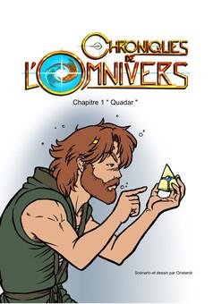 Les Chroniques de l'Omnivers : comic cover