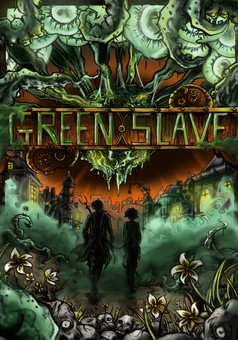 Green Slave : manga cover