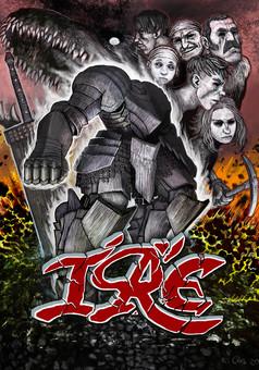 ire : comic cover