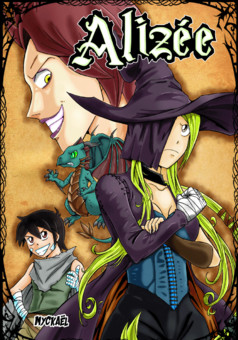 Alizee : manga cover