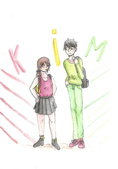 Kim : manga couverture