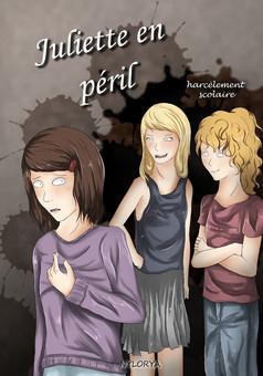 Juliette en péril : manga couverture