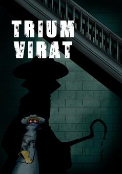 Triumvirat : manga couverture