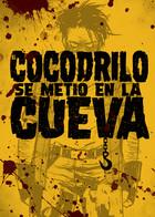 Cocodrilo se metió en la Cueva: portada