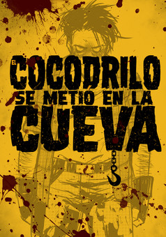 Cocodrilo se metió en la Cueva : manga cover