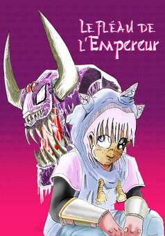Le fléau de l'empereur : manga cover